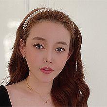 52883发箍发带, 平面/立体几何图形, 其他形状圆形 半圆 珍珠