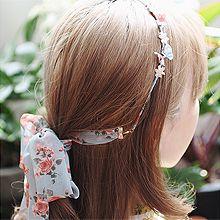 52888发箍发带, 蝴蝶结, 植物, 平面/立体几何图形, 其他形状花 叶子 蝴蝶结 长方形