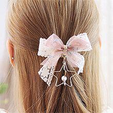 52894发圈发绳, 发梳插梳, 蝴蝶结, 植物, 平面/立体几何图形, 其他形状蝴蝶结 花 五角星 圆形 珍珠