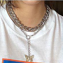 52870锁链形, 多层链, 动物, 平面/立体几何图形, 其他形状蝴蝶 圆形 椭圆形
