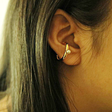53080耳夹, 其他分类特征, 平面/立体几何图形, 其他形状弧形 圆形 珍珠