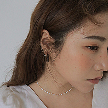 53096耳钉式, 平面/立体几何图形, 其他形状弧形 C形