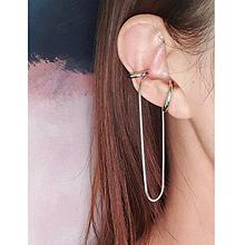 53118耳夹, 其他分类特征, 平面/立体几何图形, 其他形状C形 锁链 流苏