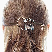 52915发簪, 其他分类特征, 蝴蝶结, 心形, 植物, 平面/立体几何图形, 其他形状心形 蝴蝶结 花 圆形 珍珠