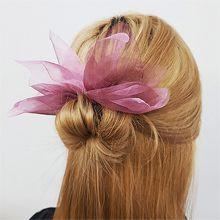 53014发圈发绳, 其他分类特征, 蝴蝶结, 植物, 平面/立体几何图形花 蝴蝶结 纯色