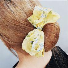 53016发圈发绳, 其他分类特征, 蝴蝶结, 植物蝴蝶结 花 叶子 长方形