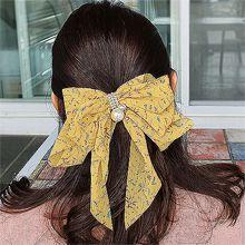53037边夹顶夹, 蝴蝶结, 植物, 平面/立体几何图形蝴蝶结 花 圆形 珍珠 弹簧夹