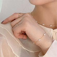 53057锁链形, 单层链, 平面/立体几何图形, 其他形状锁链 椭圆形 珍珠