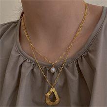 52985平面/立体几何图形, 其他形状锁链 圆形 水滴形 珍珠