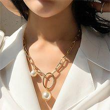 53007锁链形, 单层链, 平面/立体几何图形, 其他形状锁链 椭圆形 圆形 珍珠