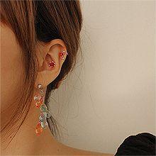 53338耳钉式, 耳夹, 平面/立体几何图形, 其他形状圆形 水滴形 长方形 耳夹