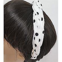53272发箍发带, 平面/立体几何图形, 其他形状交叉 麻花 圆形 圆点
