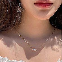 53201锁链形, 单层链, 其他分类特征, 平面/立体几何图形, 其他形状椭圆形 不规则形 珍珠