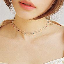 53261珠仔链, 单层链, 平面/立体几何图形, 其他形状圆形 长方形 珠子
