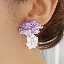 53512耳钉式, 植物花 花瓣