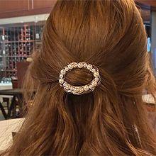 53487爪夹, 心形, 植物椭圆形 花 心形 珍珠 珠子