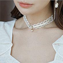 53466绳子形, 单层链, 植物, 平面/立体几何图形, 其他形状花 波浪 水滴形 圆形 珍珠 长方形 半圆形 蕾丝