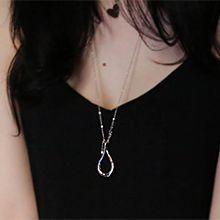 53571锁链形, 单层链水滴形 长款