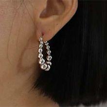 53696耳圈耳扣圆形 圆球