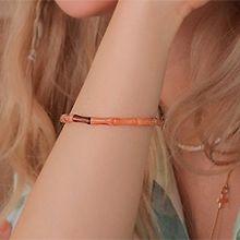 53773穿珠链, 单层链珠子 圆柱形