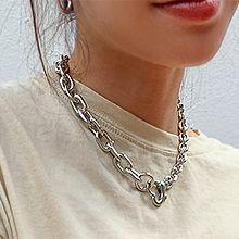 53790锁链形, 单层链, 心形心形 椭圆形