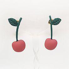 53920耳钉式, 植物, 食物/饮料苹果 叶子 花