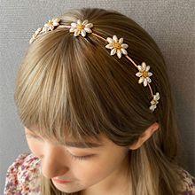53975发箍发带, 植物花 发箍 珍珠 珠子