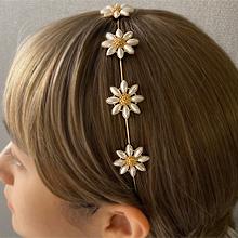 53976发箍发带, 植物发箍 花 珍珠 珠子
