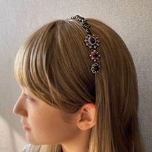 53986发箍发带, 植物花 圆形 水滴形 菱形 发箍