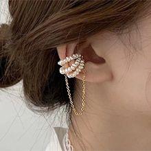 54026耳夹天然珍珠 珠子 耳夹 磁铁