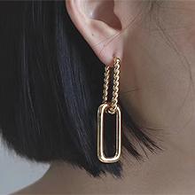 54137耳圈耳扣长方形 麻花 螺旋