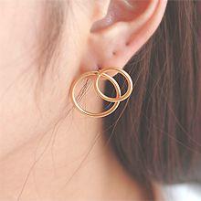 54191耳钉式圆形 圆环