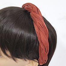 54010发箍发带发箍 纯色 麻花