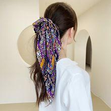 54079发圈发绳, 蝴蝶结, 植物褶皱 大肠发绳 蝴蝶结 花纹