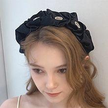 54096发箍发带发箍 褶皱 圆形