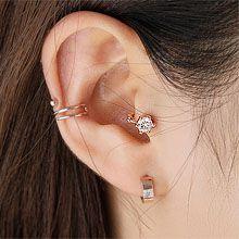 54849耳圈耳扣, 平面/立体几何图形, 其他形状圆形 耳圈 圆环