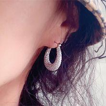 54915耳圈耳扣椭圆形 水滴形