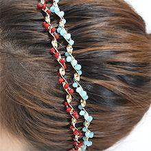 54824发箍发带波浪 珠子 珍珠 发箍