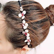 54845发箍发带, 其他分类特征, 植物, 平面/立体几何图形, 其他形状花  圆形 椭圆形 钻石形