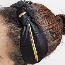 54879发箍发带, 平面/立体几何图形, 其他形状打结 发箍  弧形