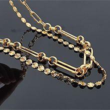 54833锁链形, 多层链, 其他分类特征, 植物, 平面/立体几何图形, 其他形状花  圆形 椭圆形 锁链 圆环 两件套