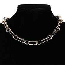 54861锁链形, 单层链, 其他分类特征, 字母数字/符号, 平面/立体几何图形, 其他形状日字 锁链 圆形 珠子 圆环