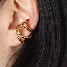 56244耳夹弧形 三层 耳夹