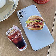 56298字母数字/符号, 食物/饮料手机支架 汉堡 可乐 咖啡 甜甜圈 字母