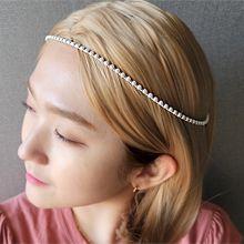 55073发箍发带珠子 珍珠 发箍 正方形