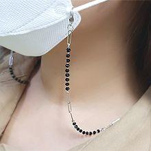 54987珠子 椭圆形 眼镜链 口罩绳