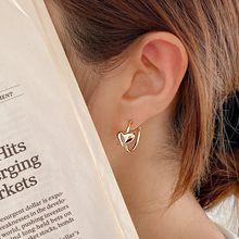 55107耳钉式, 心形C形 心形