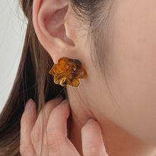 55197耳钉式, 植物花
