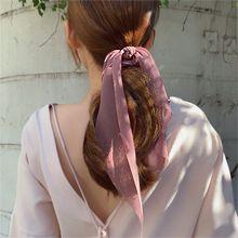 55153发圈发绳, 蝴蝶结蝴蝶结 纯色 大肠发绳