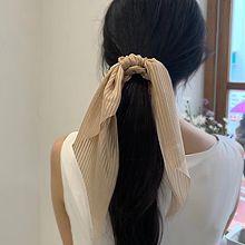 55220发圈发绳, 蝴蝶结蝴蝶结 纯色 大肠发绳条纹